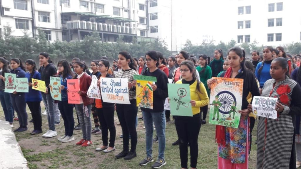 HOMAGE TO CRPF MARTYR'S IN PULWAMA ATTACK